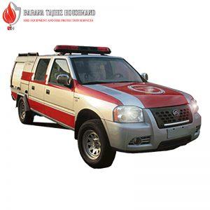 خودروی آتش نشانی پیشرو سیلور